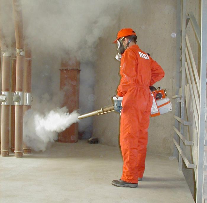 Fumigación de infraestructuras - Empresa de control de plagas