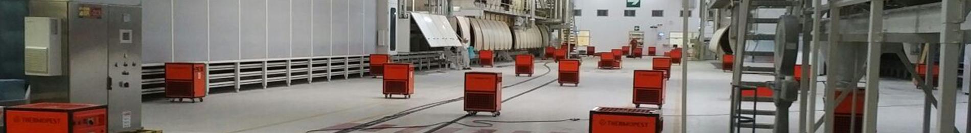 fumigación tratamiento térmico - Control de plagas Valencia