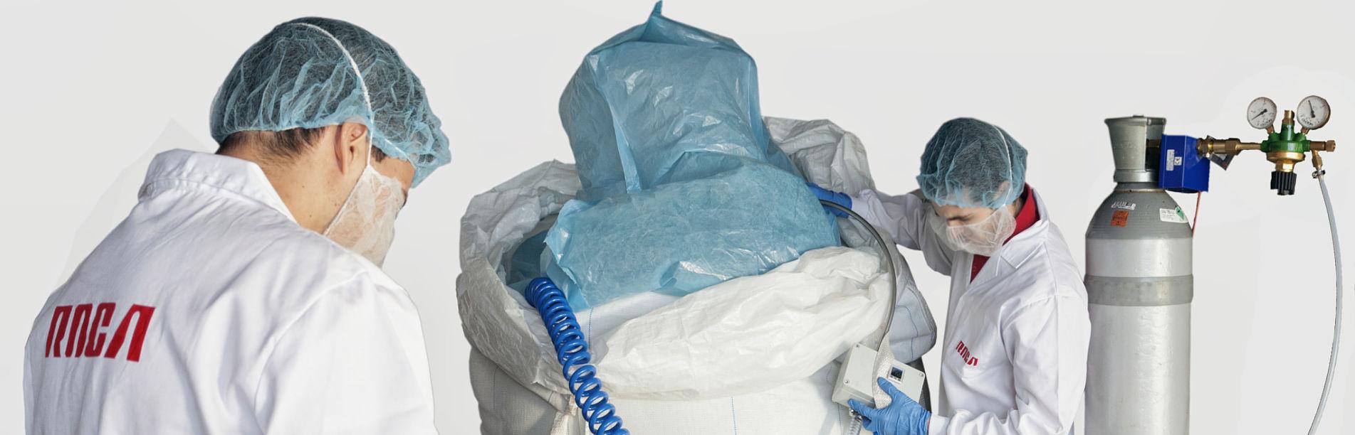 Tratamiento ecológico Co2 para el control de plagas