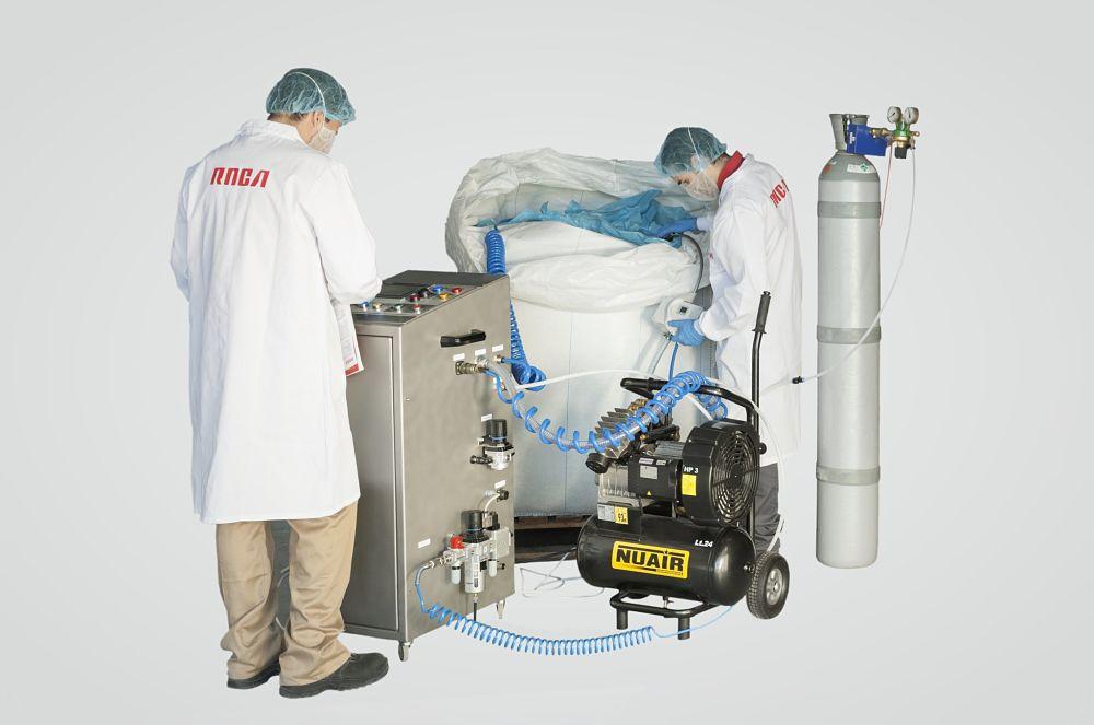 Tratamiento portátil Co2 ROCA Defisan