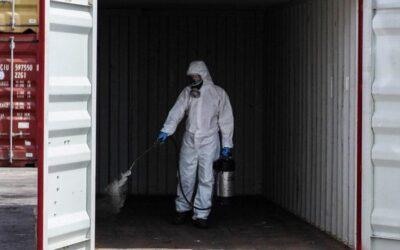 Sistema de desinfección de contenedores específico para COVID19 desarrollado por Roca Defisan